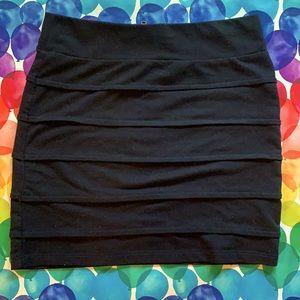 Black Garage Skirt